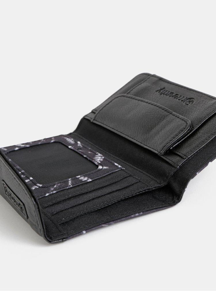 Černá dámská vzorovaná peněženka Meatfly Mia