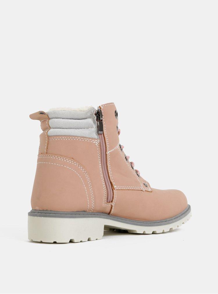 Dámske rúžové boty Haily´s