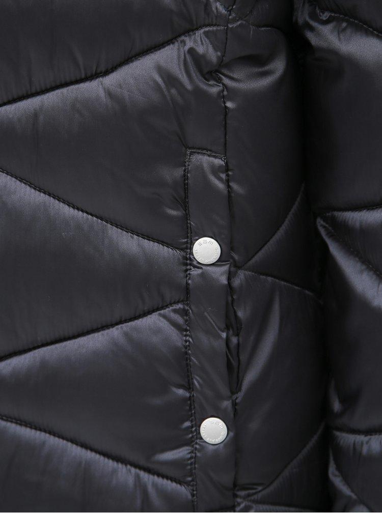 Tmavě šedá dámská prošívaná bunda SAM 73
