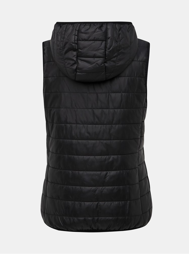 Černá dámská prošívaná vesta SAM 73