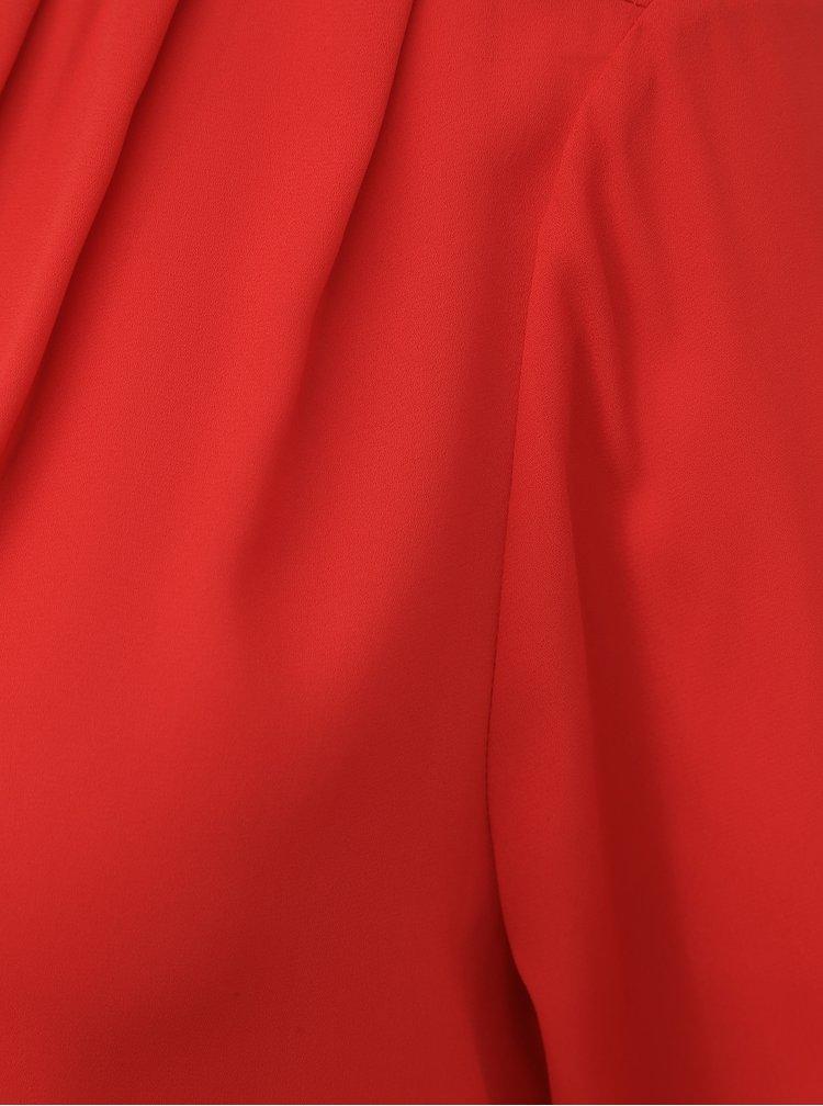 Červená halenka VERO MODA Elizabeth
