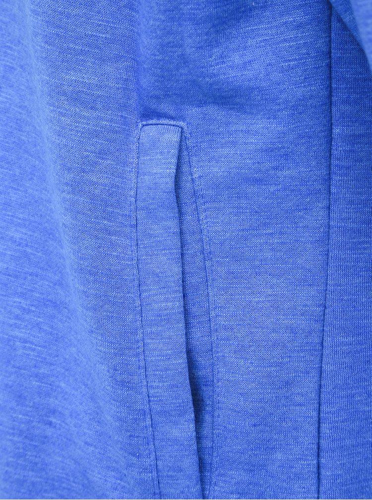 Šedo-modrá pánská mikina SAM 73