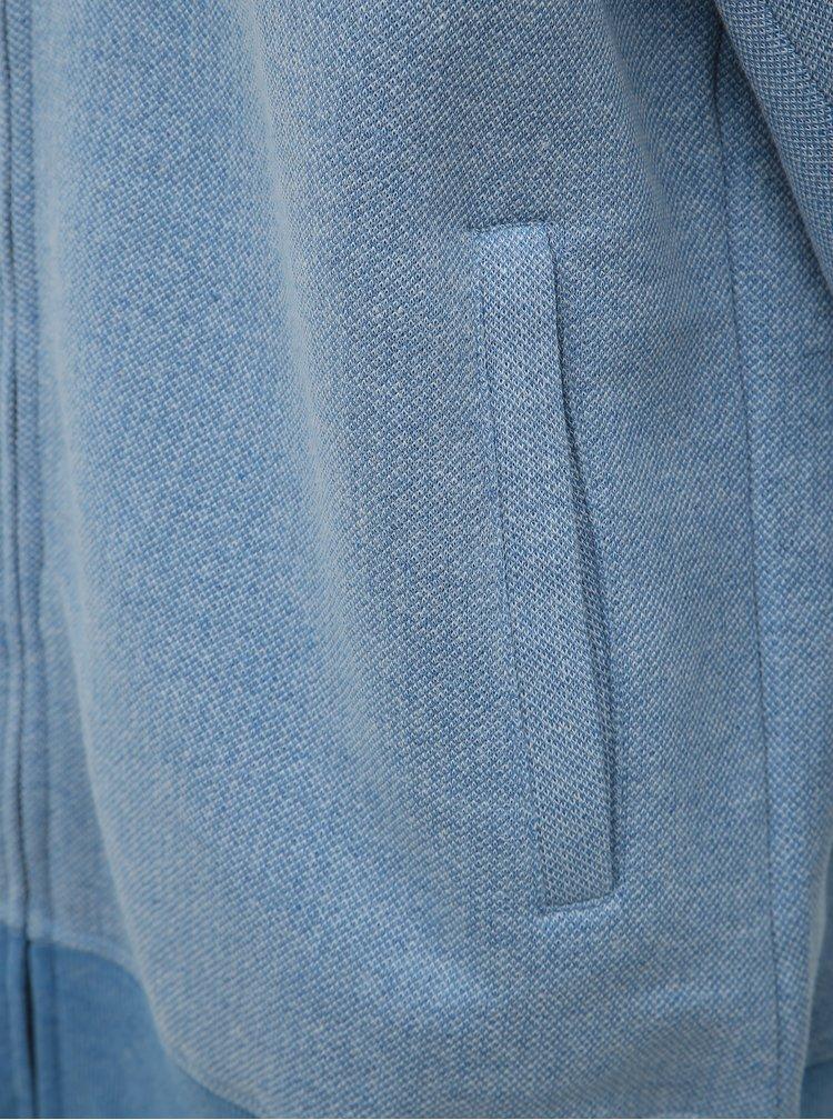 Světle modrá pánská mikina SAM 73