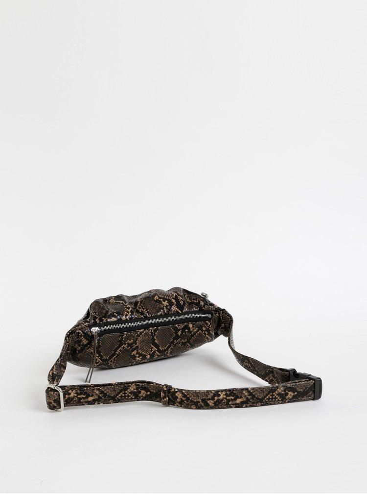 Hnědá ledvinka s hadím vzorem Pieces Ille