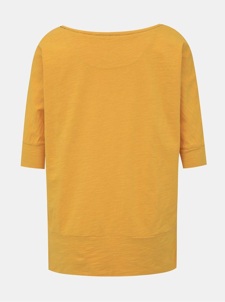 Žluté dámské tričko BUSHMAN Floridana