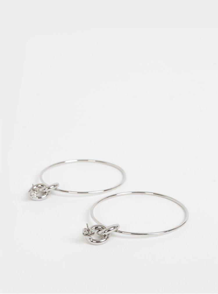 Náušnice ve stříbrné barvě Pieces Irem