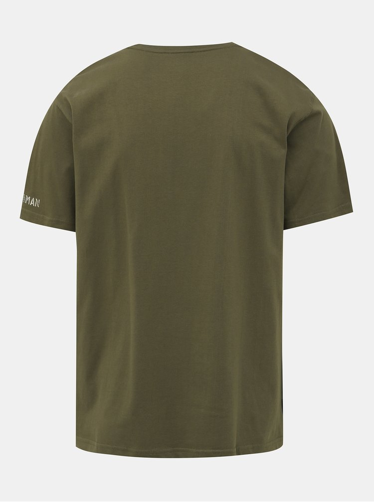 Tmavozelené pánske tričko BUSHMAN Arvin