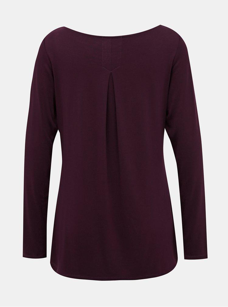 Vínové dámské tričko BUSHMAN Gila