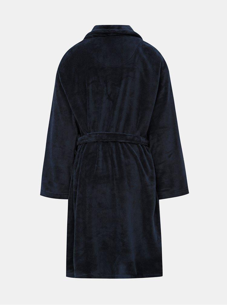Tmavě modrý župan Burton Menswear London
