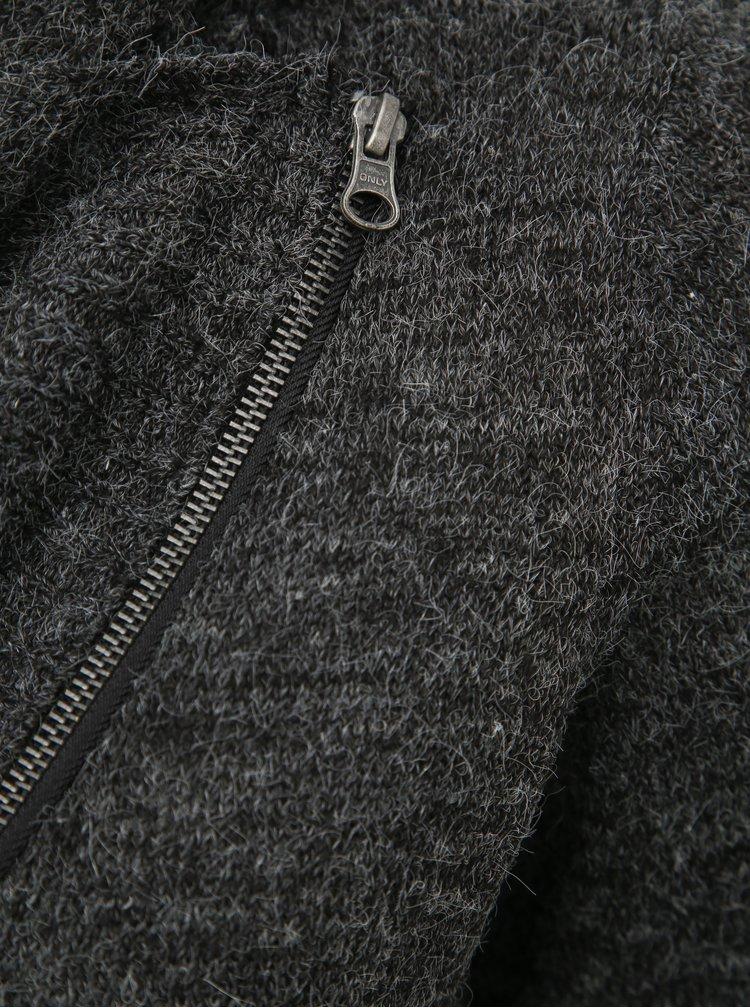 Tmavě šedý kardigan ONLY CARMAKOMA Louise