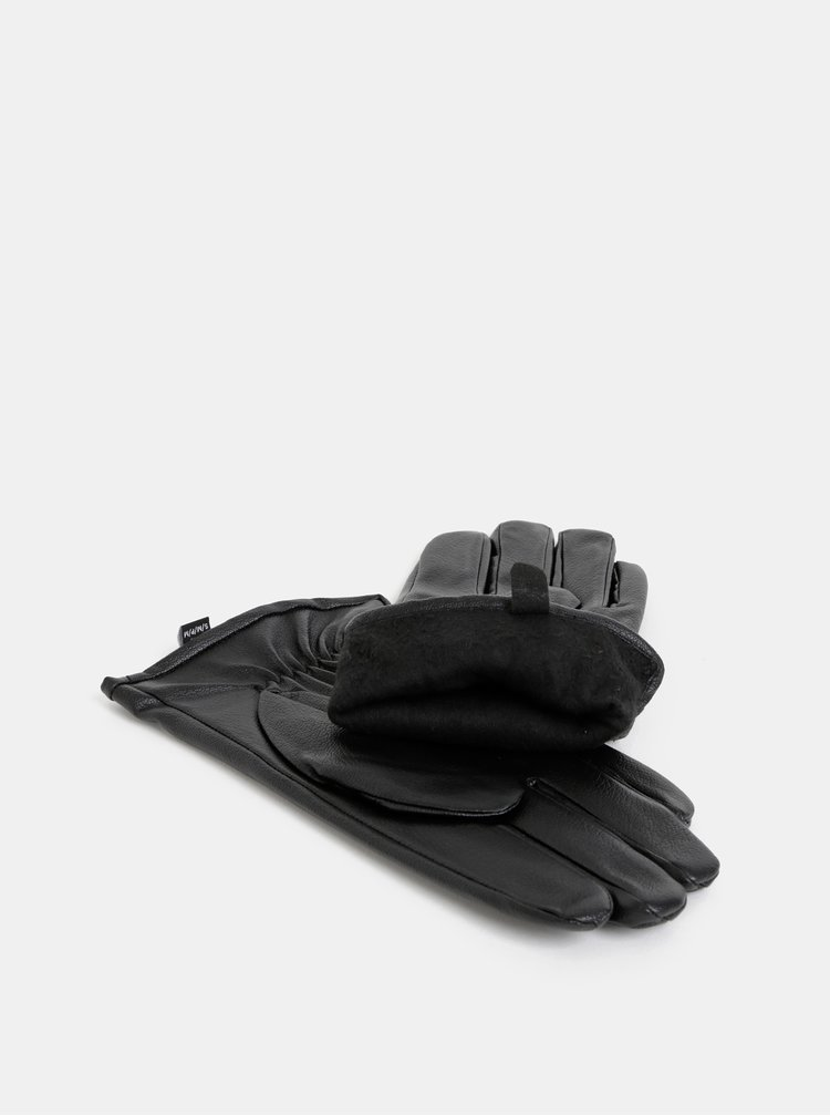 Černé rukavice ONLY & SONS Slars