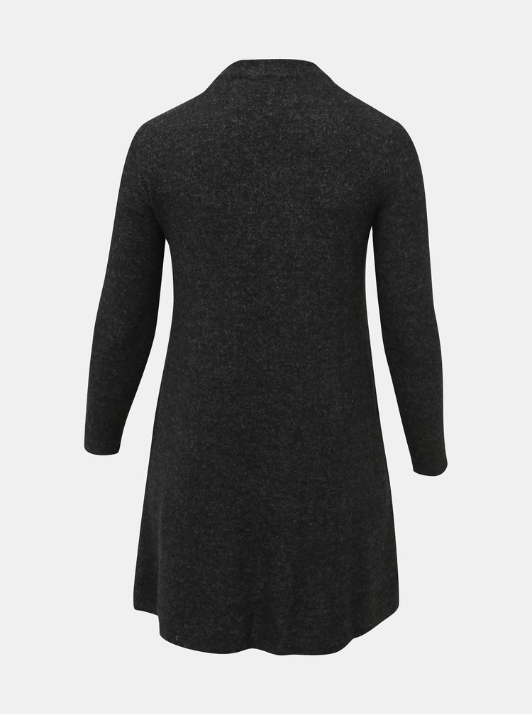Tmavošedé svetrové šaty ONLY CARMAKOMA India