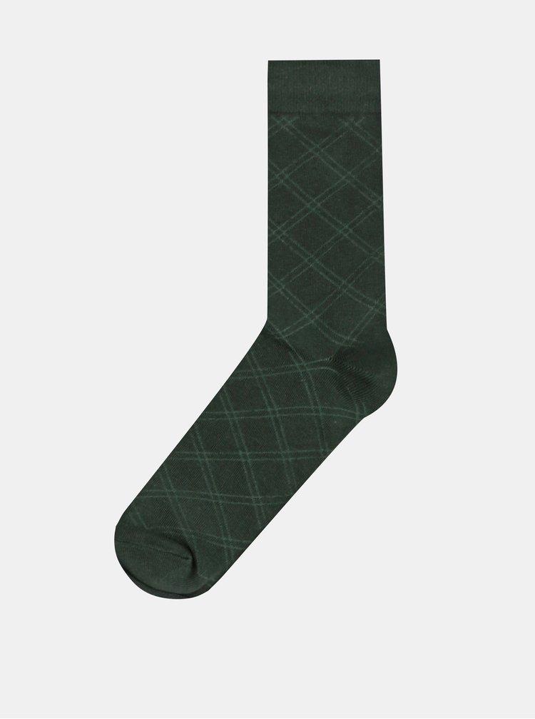 Sada štyroch párov ponožiek v modrej, zelenej a šedej farbe ONLY & SONS Levin
