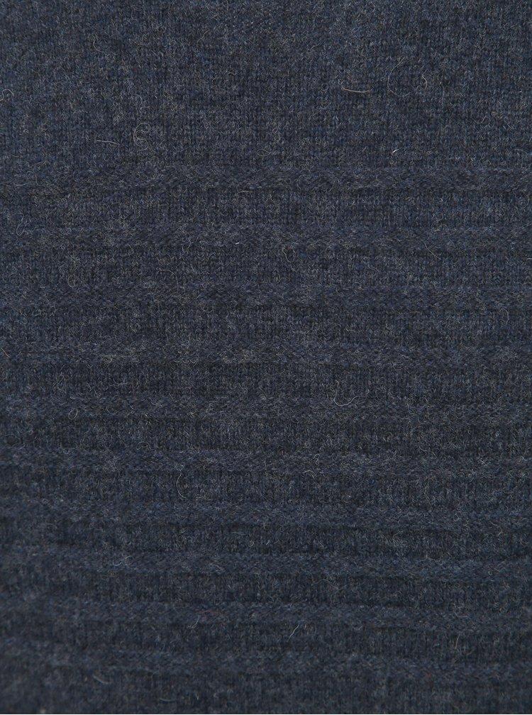 Tmavě modrý vlněný svetr ONLY & SONS Howard
