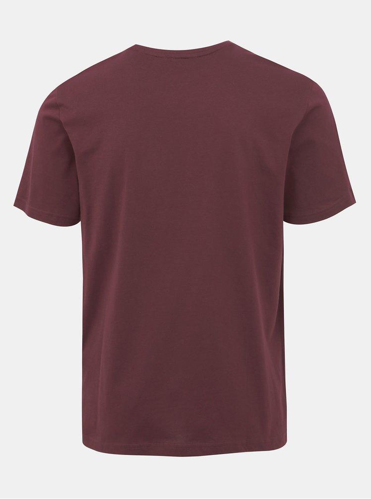 Vínové tričko ONLY & SONS Alex