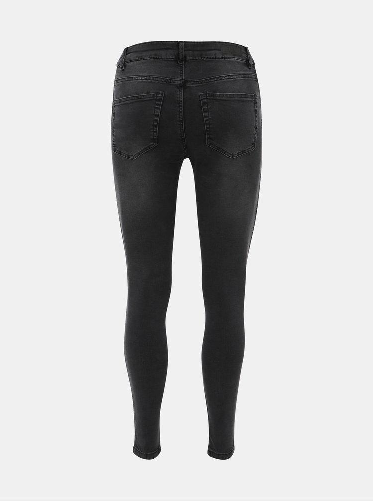 Černé skinny fit džíny ONLY Anne