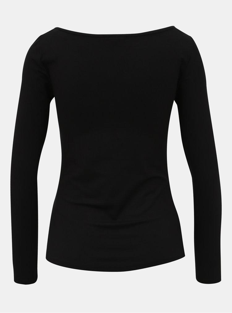 Černé basic tričko Noisy May Mena