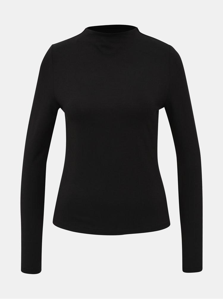 Černé basic tričko Noisy May Oyster