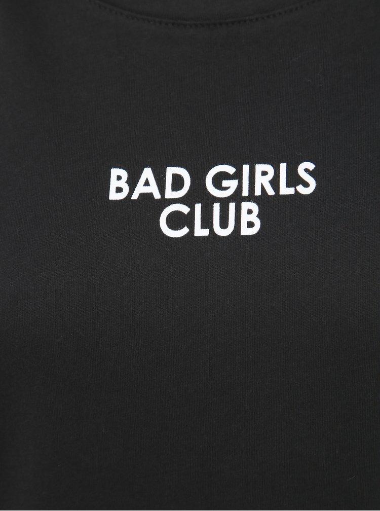 Čierne dámske tričko Haily´s Ana