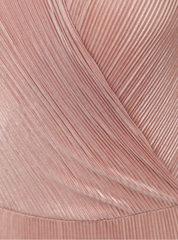 Staroružové dámske plisované body Haily´s Laurine