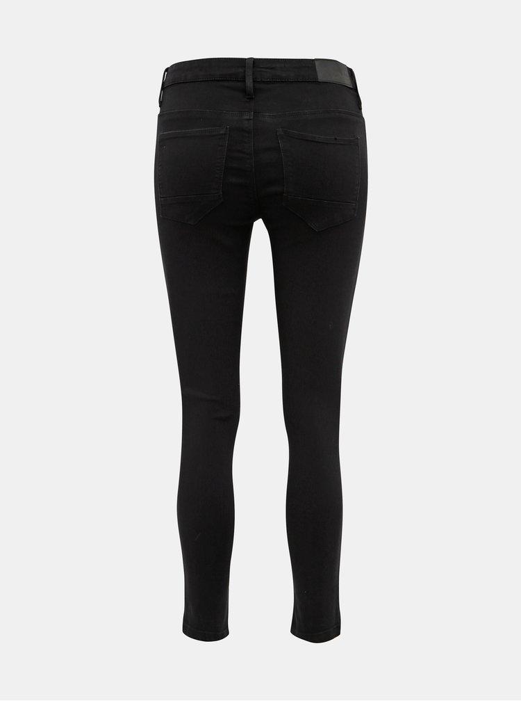 Černé skinny fit džíny Noisy May Kimmy