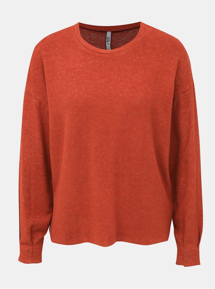 Tehlový dámsky sveter Haily´s Nea