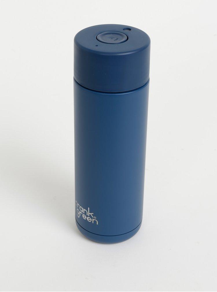 Tmavě modrý nerezový cestovní hrnek Frank Green 595 ml