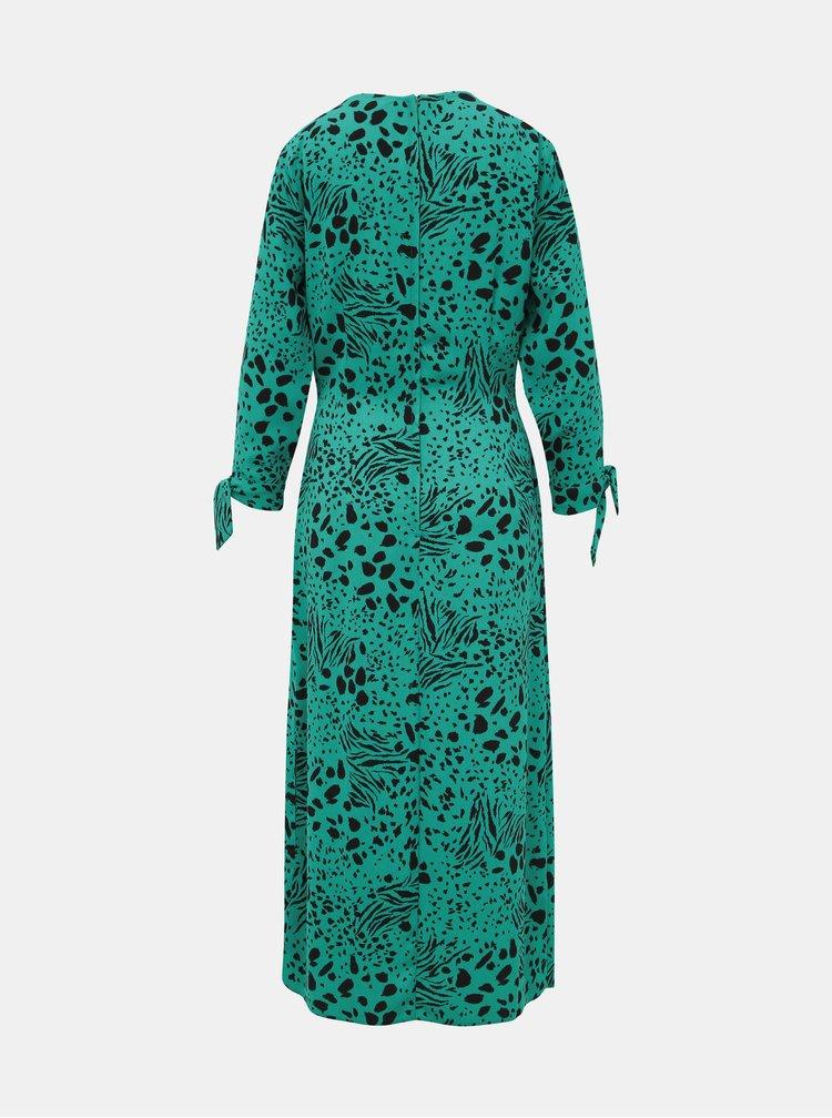 Zelené vzorované maxišaty Dorothy Perkins Tall