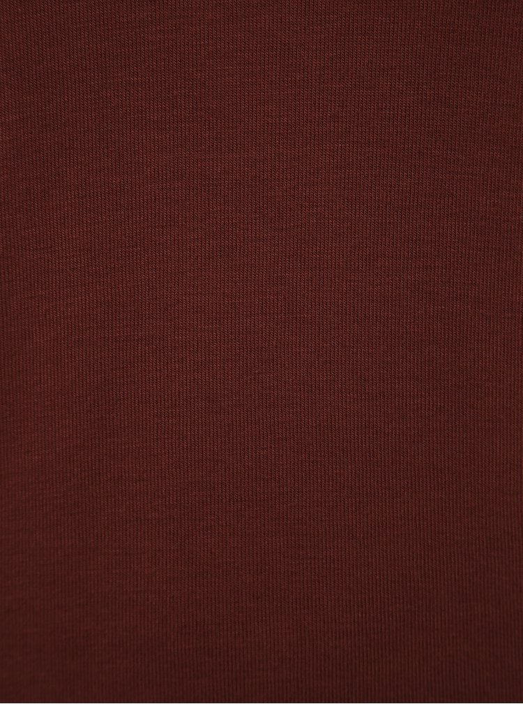 Hnedé tričko VERO MODA Honey