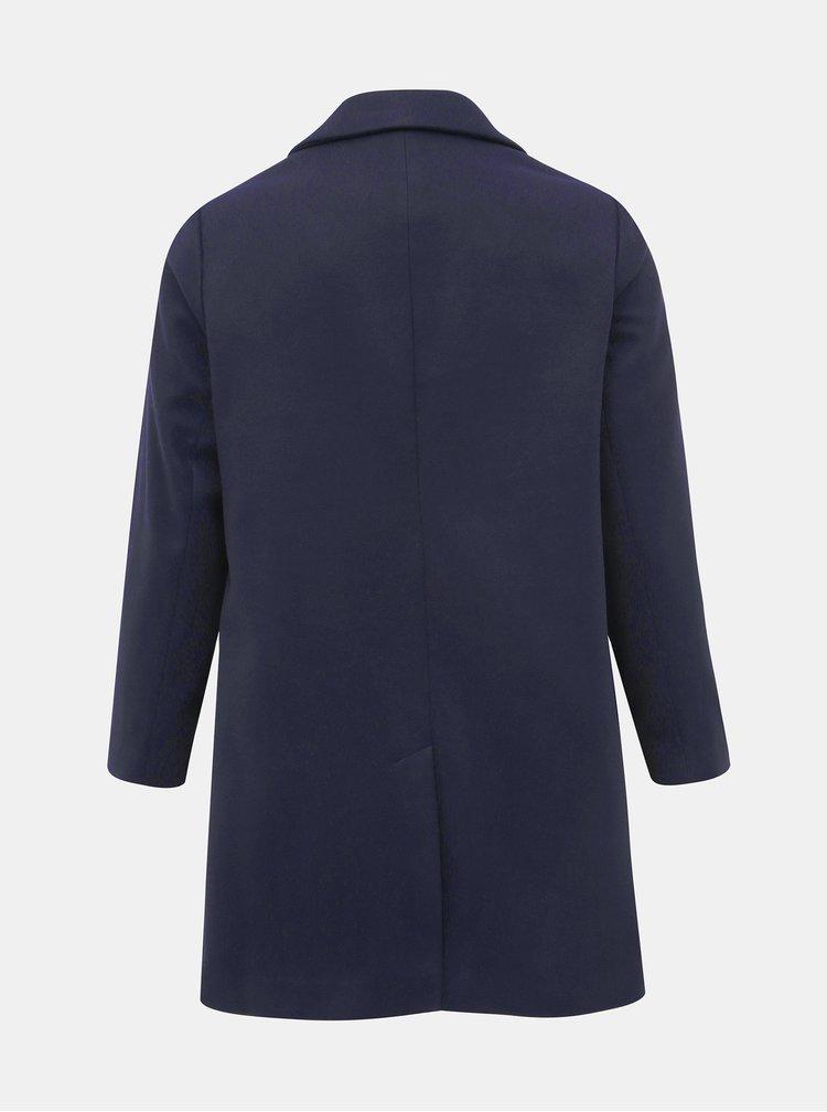 Tmavomodrý kabát Dorothy Perkins Curve