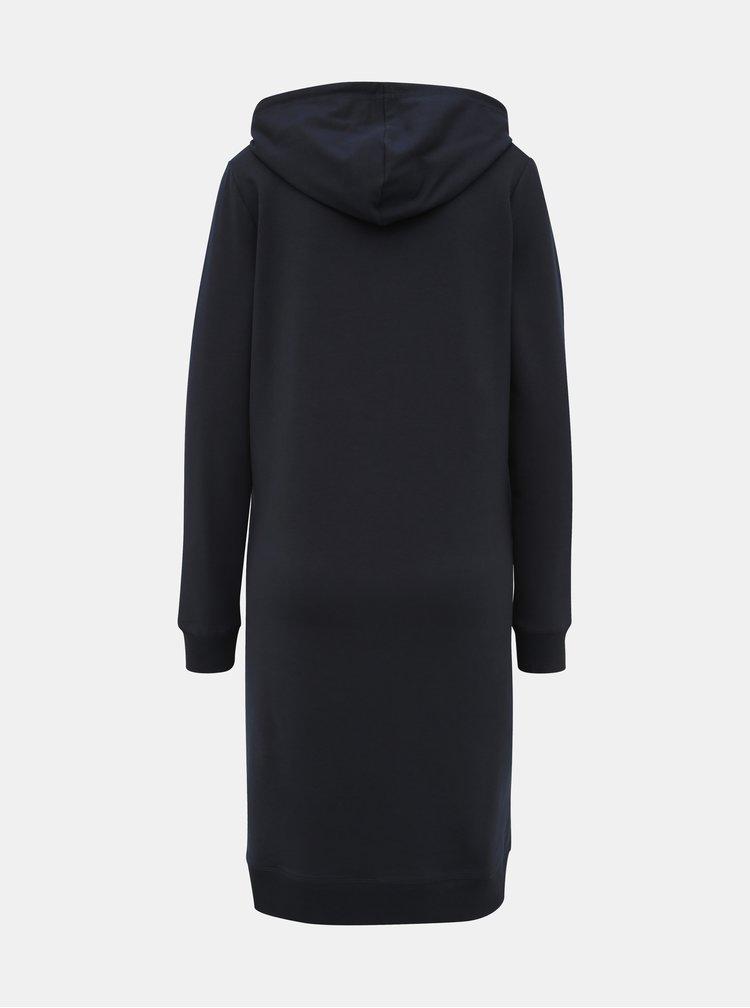 Tmavomodré tehotenské mikinové šaty Mama.licious Ester