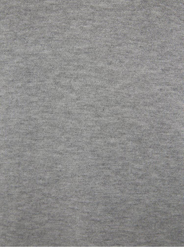 Šedé svetrové šaty VERO MODA Janiel