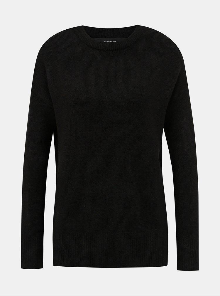 Černý basic svetr VERO MODA Mure