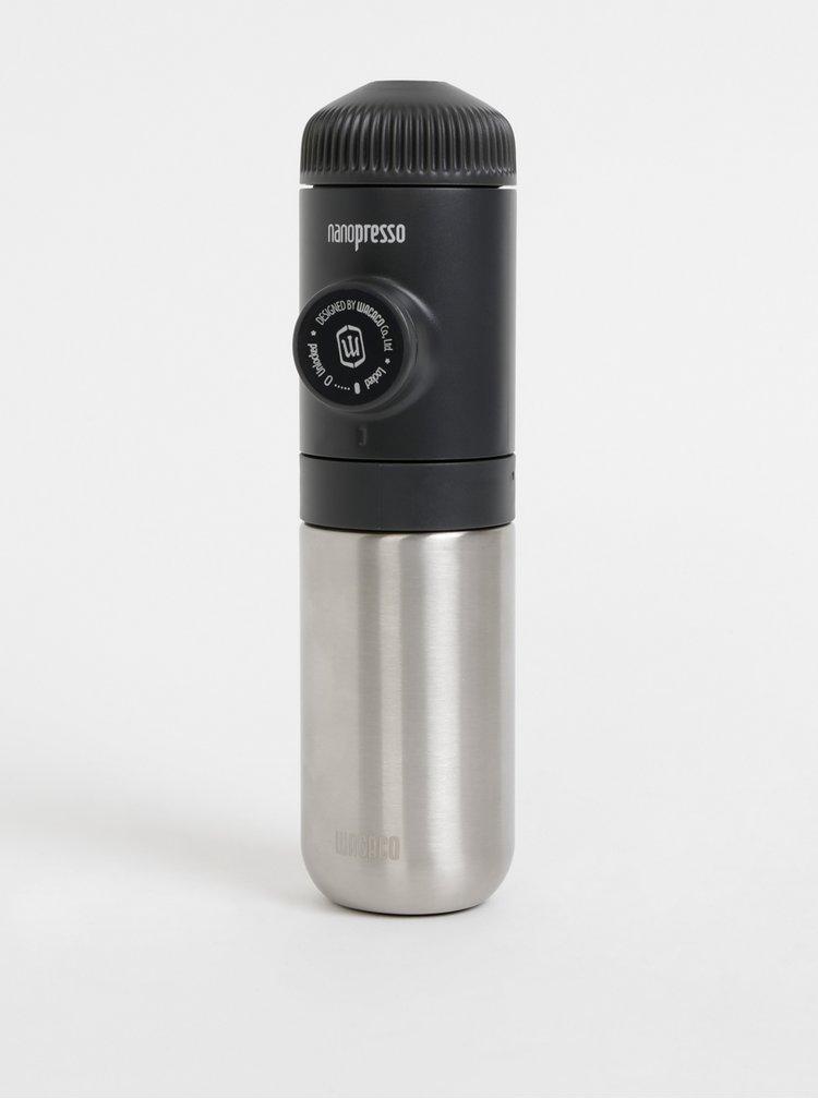 Černý přenosný kávovar Wacaco Nanopresso 80 ml