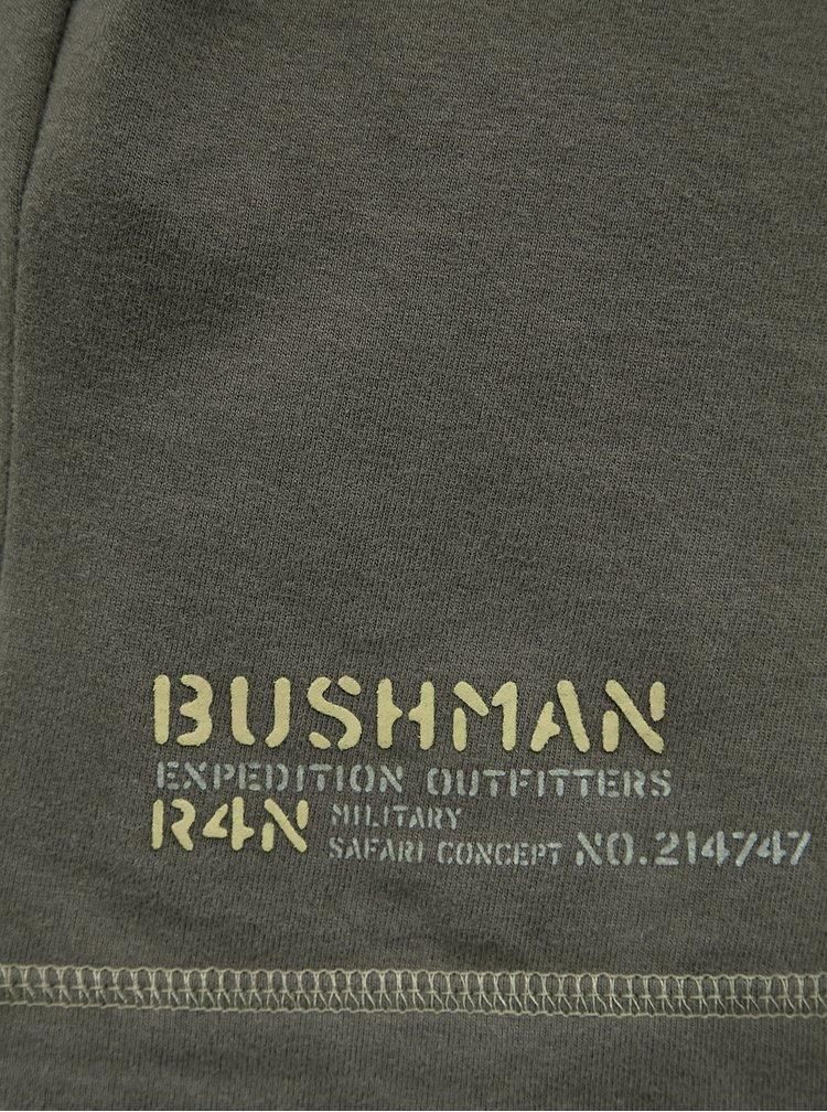Kaki pánske tričko BUSHMAN Kramer