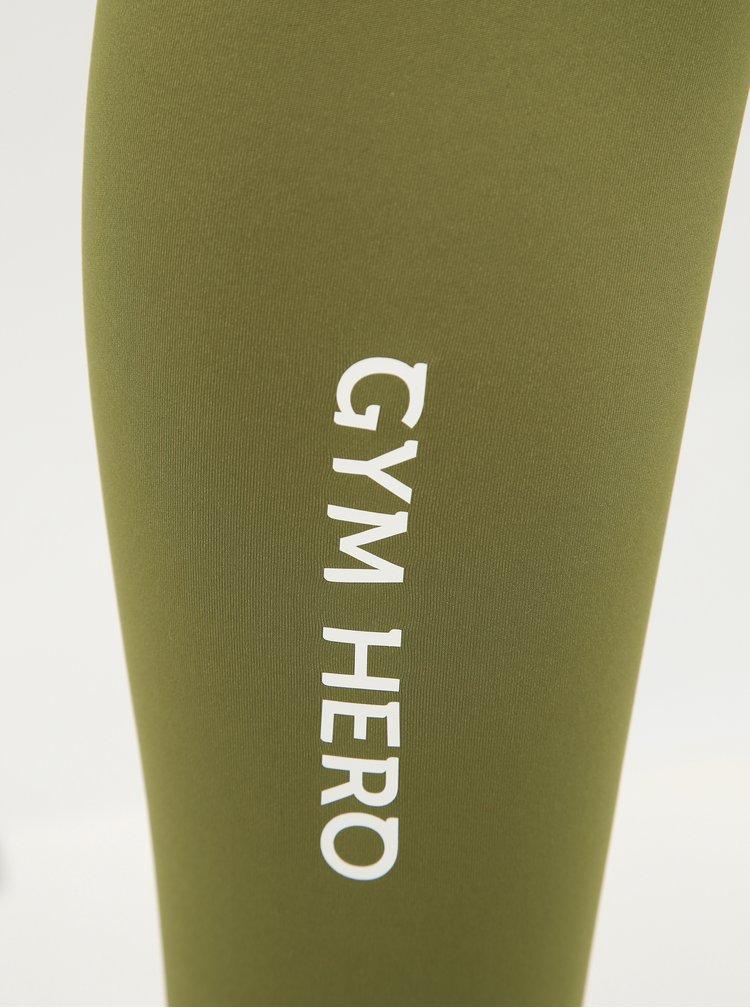 Zelené sportovní legíny Gym Hero