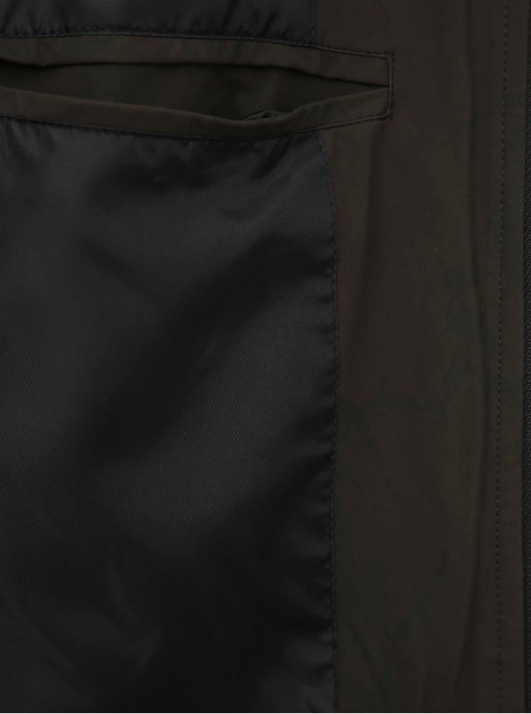 Kaki vzorovaný bomber ONLY & SONS Brett