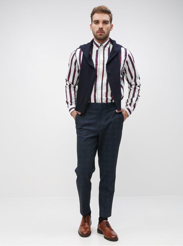 Camasi casual pentru barbati Jack & Jones - alb, albastru inchis, rosu