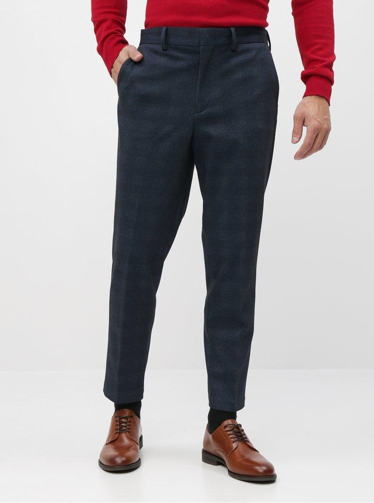 Pantaloni formali pentru barbati Selected Homme - albastru inchis