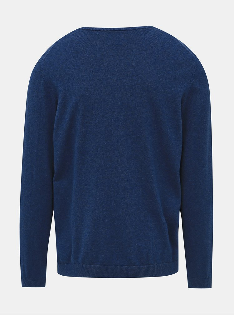 Modrý basic svetr ONLY & SONS Alex
