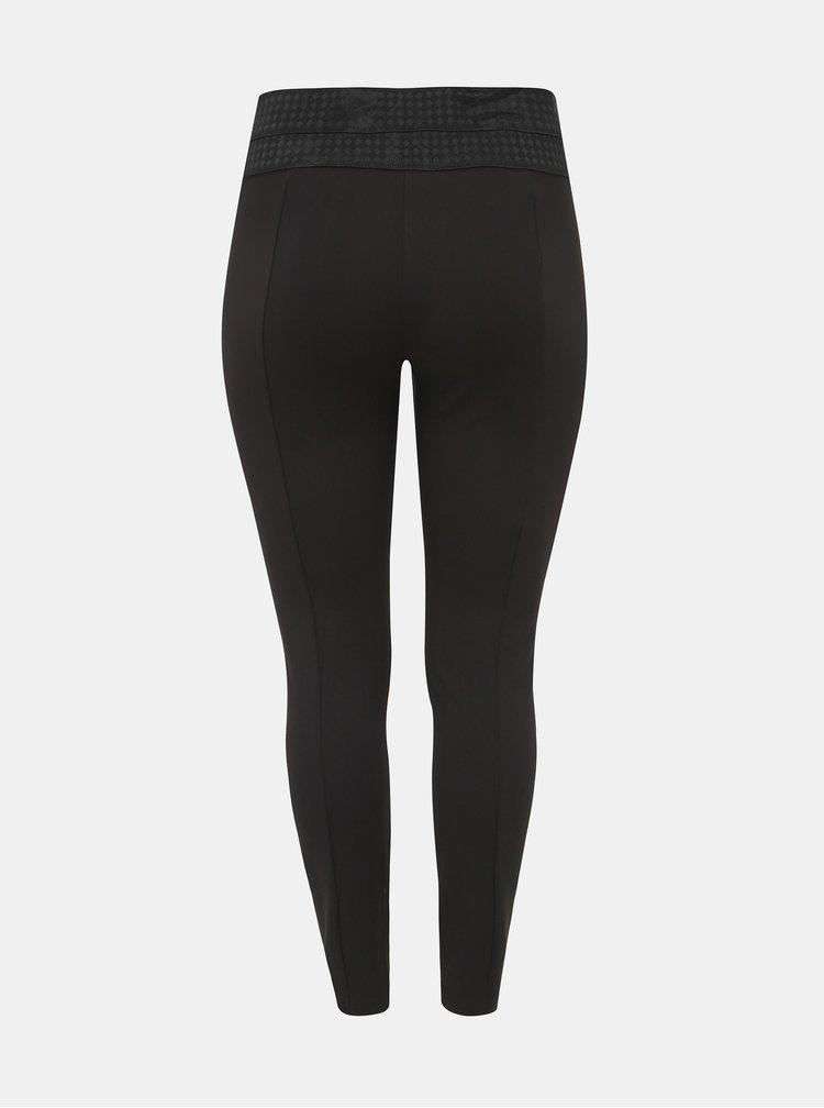 Černé kalhoty Zizzi Limone