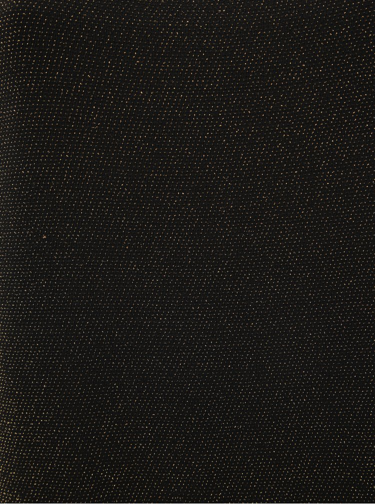 Černá třpytivá halenka ONLY CARMAKOMA Caro
