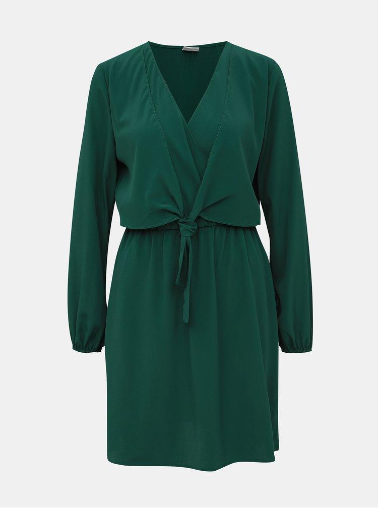 Tmavě zelené šaty Jacqueline de Yong Pita