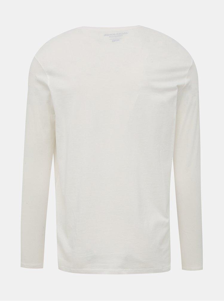 Biele tričko Jack & Jones Brandon