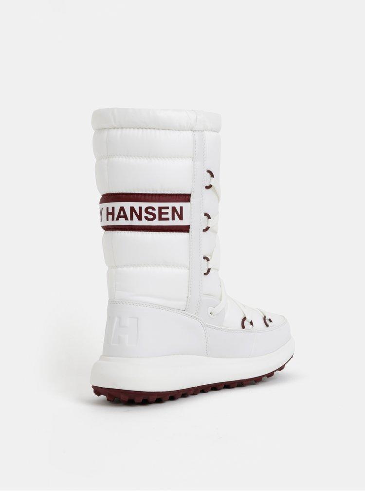 Bílé dámské voděodolné sněhule HELLY HANSEN Isolabella