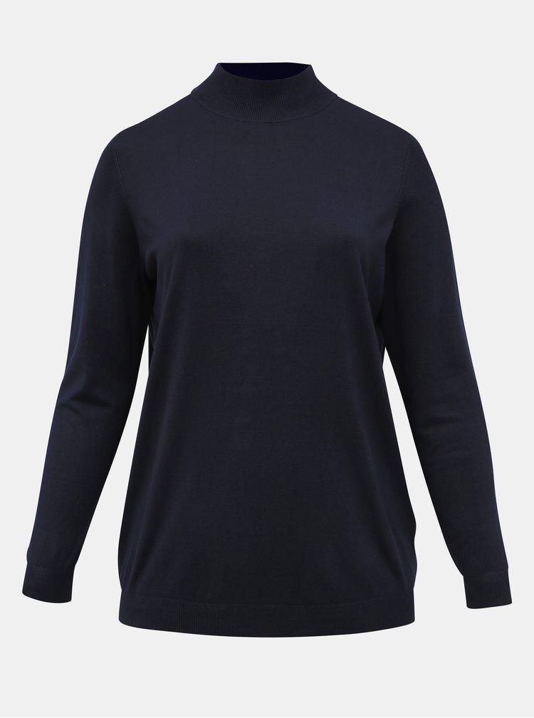 Tmavě modrý basic svetr ONLY CARMAKOMA Lady
