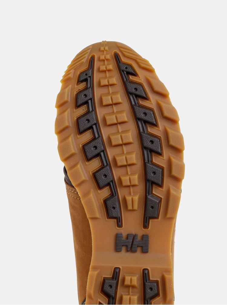 Hnědé pánské semišové kotníkové boty HELLY HANSEN Koppervik
