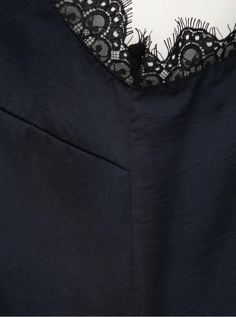 Tmavě modrý top ONLY CARMAKOMA Sonia