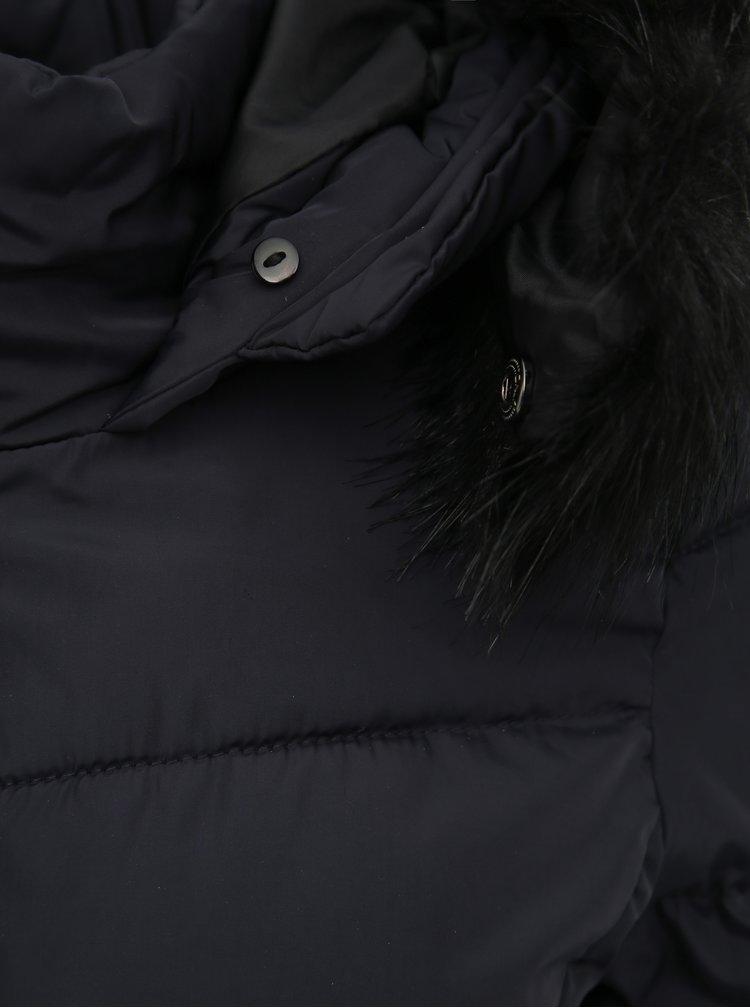 Tmavě modrá prošívaná bunda ONLY Minea