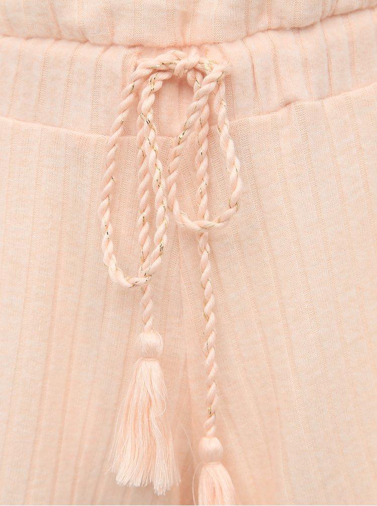 Světle růžový pyžamový overal Dorothy Perkins